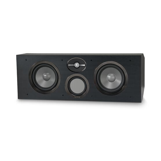 "Reference RC263 - Black - Dual 6-1/2"" 3-Way Center Channel Loudspeaker - Front"