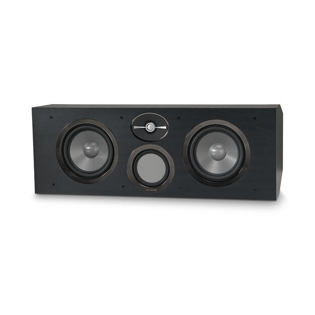 """Reference RC263 - Black - Dual 6-1/2"""" 3-Way Center Channel Loudspeaker - Front"""