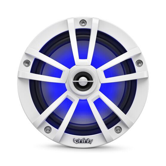 "Reference 622MLW - White Gloss - Reference 622MLW—6-1/2"" (160mm) two-way marine audio multi-element speaker - white - Detailshot 4"