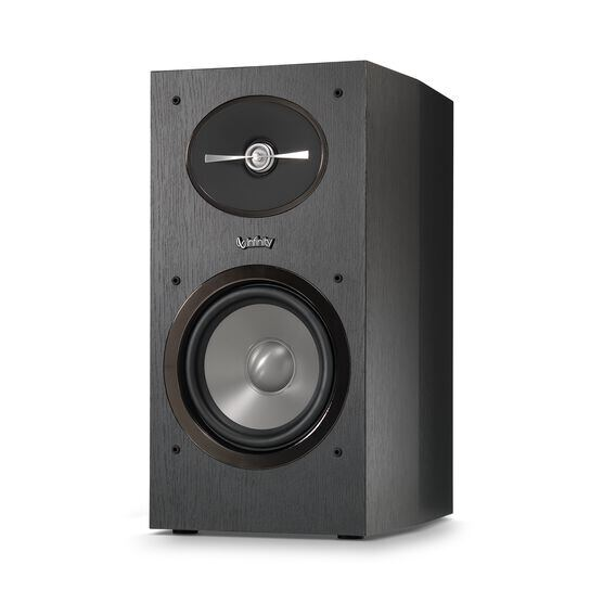 "Reference 162 - Black - 6-1/2"" 2-Way Bookshelf Speakers - Detailshot 1"
