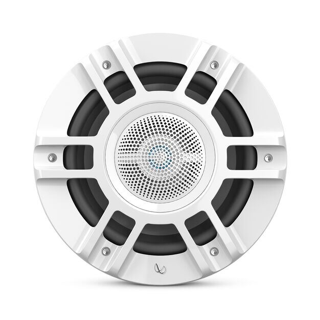 """Kappa 8130M - White - one pair 8"""" (200mm) 3-way convertible - Front"""