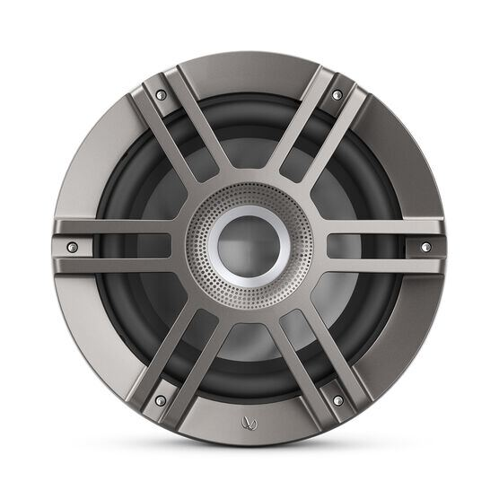 "Kappa 1050M - Titanium - one 10"" (250mm) woofer - Front"