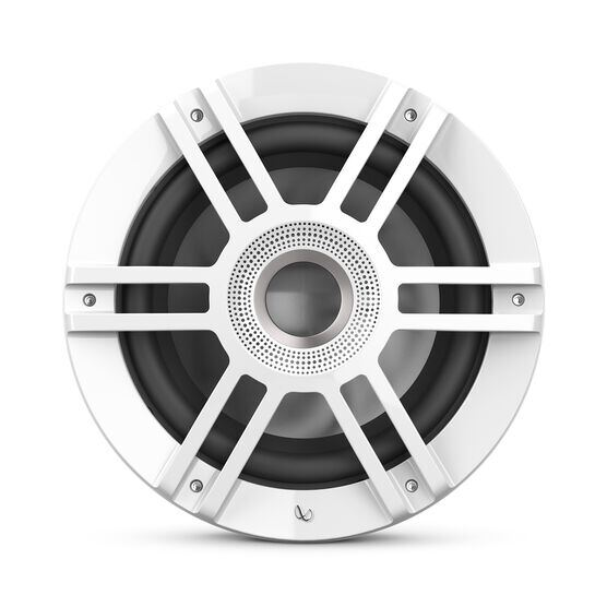 "Kappa 1010M - White - one 10"" (250mm) woofer - Front"