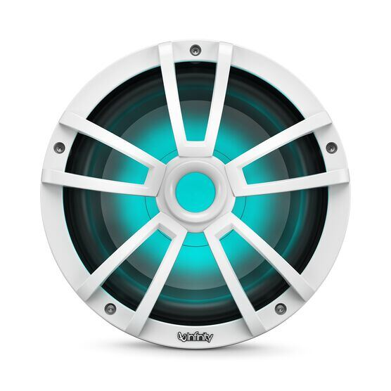 """Reference 1022MLW - White Gloss - Reference 1022MLW—10"""" (250mm) marine audio subwoofer - white - Detailshot 1"""