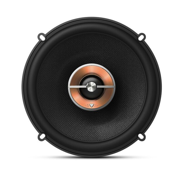 "KAPPA 62IX - Black - 6-1/2"" (160mm) two-way car audio multi-element speaker - Front"