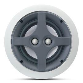 ERS 110DT - White - 2-Way 6-1/2 inch Round In-Ceiling Speaker with Dual Tweeters - Hero