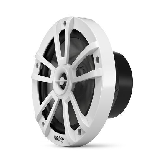 "Reference 822MLW - White Gloss - Reference 822MLW—8"" (200mm) two-way marine audio multi-element speaker - white - Left"