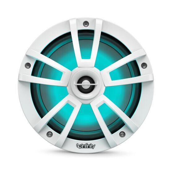"Reference 822MLW - White Gloss - Reference 822MLW—8"" (200mm) two-way marine audio multi-element speaker - white - Detailshot 1"