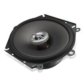 "Reference 8602cfx - Black - A 6"" x 8"" / 5"" x 7"" custom-fit, two-way, high-fidelity coaxial speaker with true 4-ohm technology - Hero"