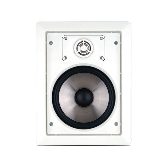 """CS60 - White - 2-way 6-1/2"""" In-Wall Speaker - Hero"""