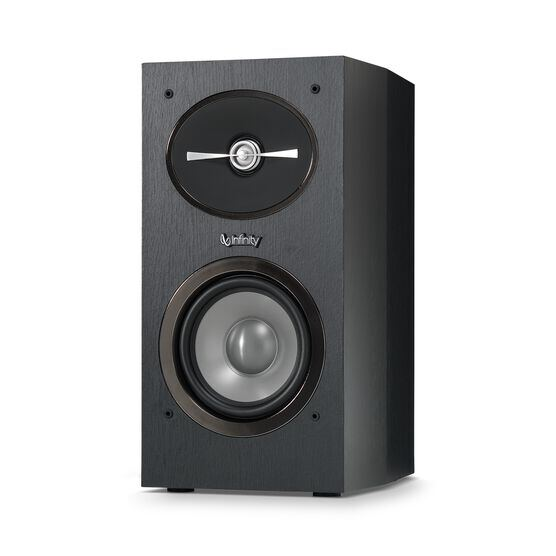 "Reference 152 - Black - 5-1/4"" 2-Way Bookshelf Speakers - Detailshot 1"