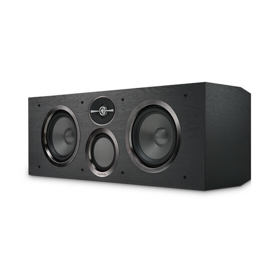 "Reference RC263 - Black - Dual 6-1/2"" 3-Way Center Channel Loudspeaker - Detailshot 1"