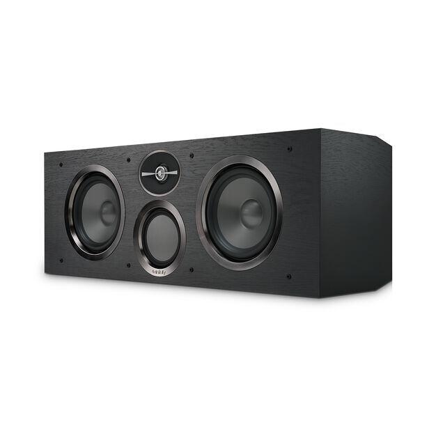 """Reference RC263 - Black - Dual 6-1/2"""" 3-Way Center Channel Loudspeaker - Detailshot 1"""