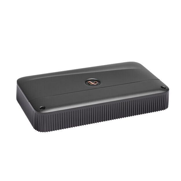 Reference 3004A - Black - High performance 4 channel car amplifier - Detailshot 2