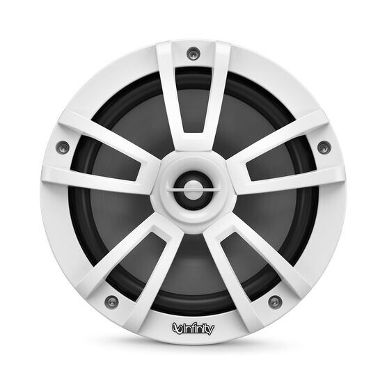 "Reference 822MLW - White Gloss - Reference 822MLW—8"" (200mm) two-way marine audio multi-element speaker - white - Front"