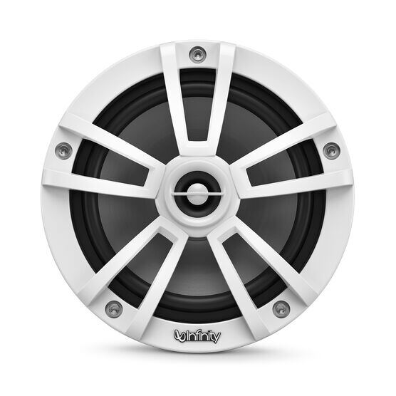 "Reference 622MLW - White Gloss - Reference 622MLW—6-1/2"" (160mm) two-way marine audio multi-element speaker - white - Front"