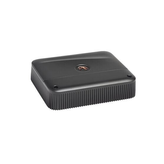 Reference 6001A - Black - High performance mono subwoofer car amplifier - Hero