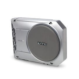BASSLINK SM - Silver - AUTOMOTIVE POWERED SUBWOOFER - Hero