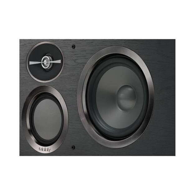 """Reference RC263 - Black - Dual 6-1/2"""" 3-Way Center Channel Loudspeaker - Detailshot 2"""