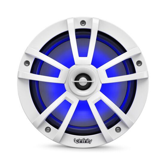 "Reference 822MLW - White Gloss - Reference 822MLW—8"" (200mm) two-way marine audio multi-element speaker - white - Detailshot 4"