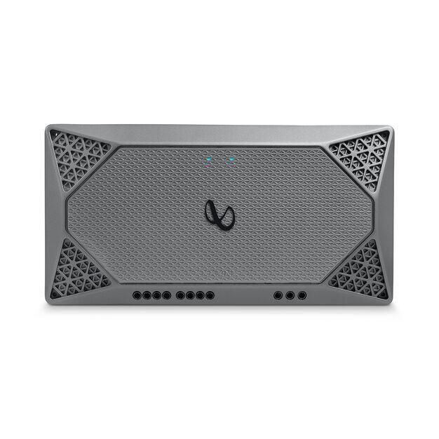 Infinity Marine M704A - Silver - Multi-element high-performance, 4-channel amplifier - Detailshot 1