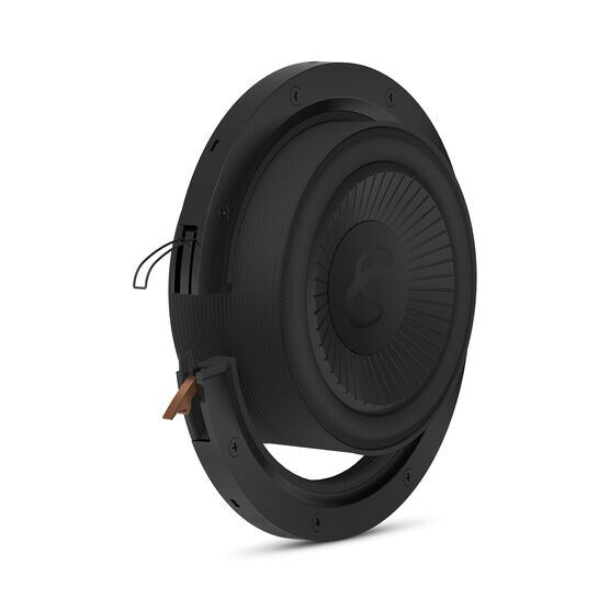 "Reference Flex Woofer 8s - Black - 8"" (200mm) adjustable depth car audio subwoofers optimized for factory location upgrades - Detailshot 1"