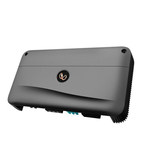 Reference 10001A - Black - High performance mono subwoofer car amplifier - Hero