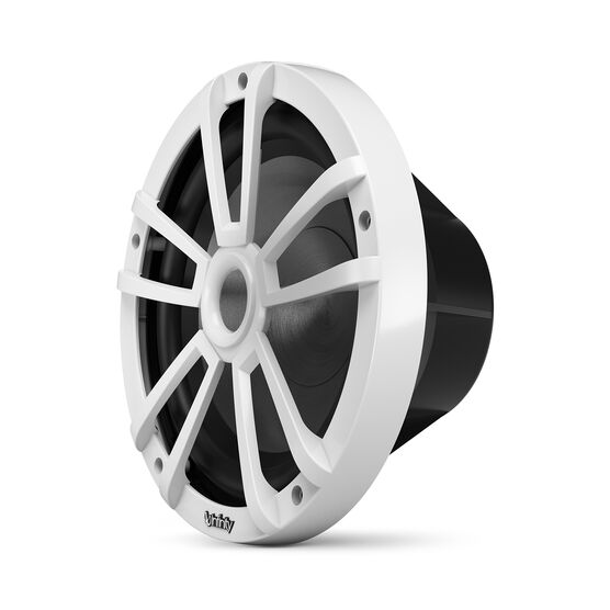 "Reference 1022MLW - White Gloss - Reference 1022MLW—10"" (250mm) marine audio subwoofer - white - Left"
