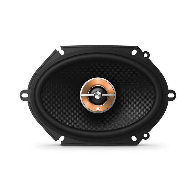 "KAPPA 86CFX - Black - 6"" x 8"" two-way car audio multi-element speaker - Front"