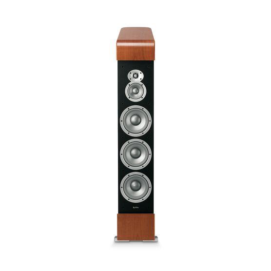CLASSIA C336 - Black - 3-Way, Triple 6-1/2 inch Floorstanding Loudspeaker Featuring Patented CMMD® Drivers - Detailshot 1