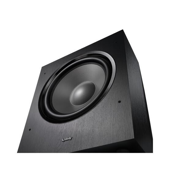 "Reference SUB R12 - Black - 12"" 300 Watt Powered Subwoofer - Detailshot 2"