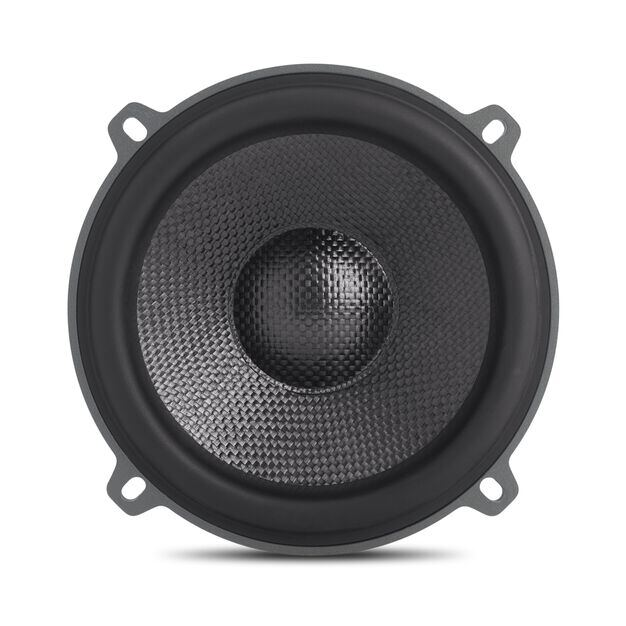 """Perfect 600 - Black - 6-1/2"""" (165mm) extreme-performance 2-way component system - Front"""