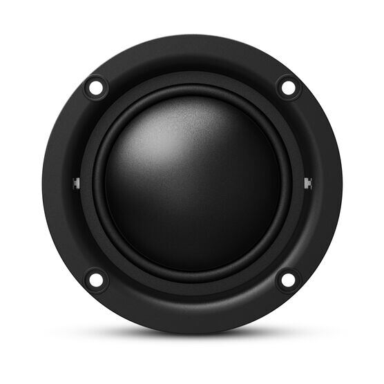 "KAPPA 20MX - Black - Kappa 20mx—2"" (50mm) car audio dome midrange w/ bandpass crossover enclosure - Detailshot 4"