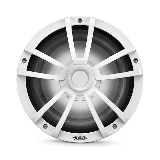 "Reference 1022MLW - White Gloss - Reference 1022MLW—10"" (250mm) marine audio subwoofer - white - Detailshot 5"