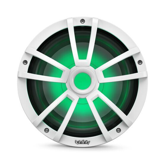 """Reference 1022MLW - White Gloss - Reference 1022MLW—10"""" (250mm) marine audio subwoofer - white - Detailshot 2"""