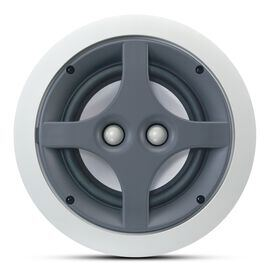 ERS 110DT - White - 2-Way 6-1/2 inch Round In-Ceiling Speaker with Dual Tweeters - Hero