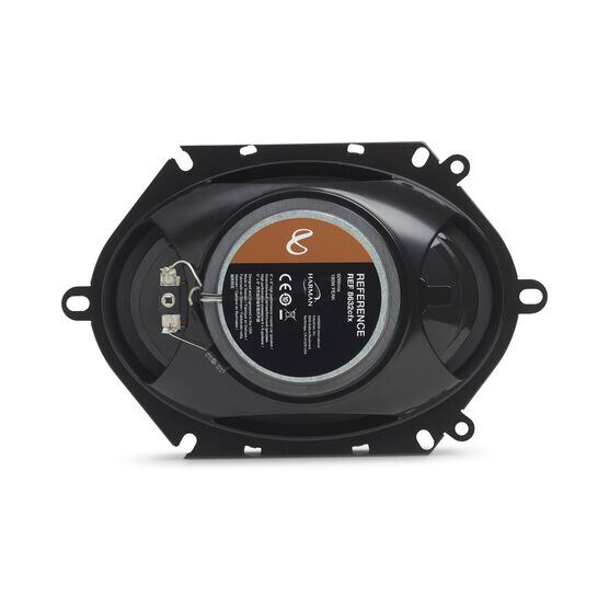 "Reference 8632cfx - Black - 6"" x 8"" (152mm x 203mm) coaxial car speaker, 180W - Back"