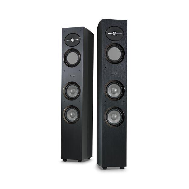 "Reference 253 - Black - 5-1/4"" 3-Way Floorstanding Loudspeaker - Detailshot 5"