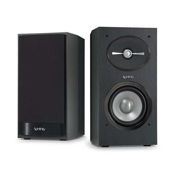 "Reference 152 - Black - 5-1/4"" 2-Way Bookshelf Speakers - Hero"