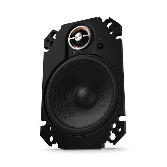 "KAPPA 64CFX - Black - 4"" x 6"" two-way car audio plate multi-element - Hero"