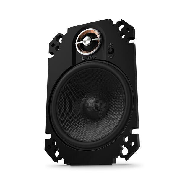 "KAPPA 64CFX - Black - 4"" x 6"" two-way car audio plate multi-element - Hero"
