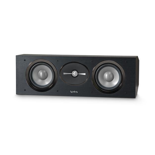 """Reference RC252 - Black - Dual 5-1/4"""" 2.5-Way Center Channel Loudspeaker - Detailshot 1"""