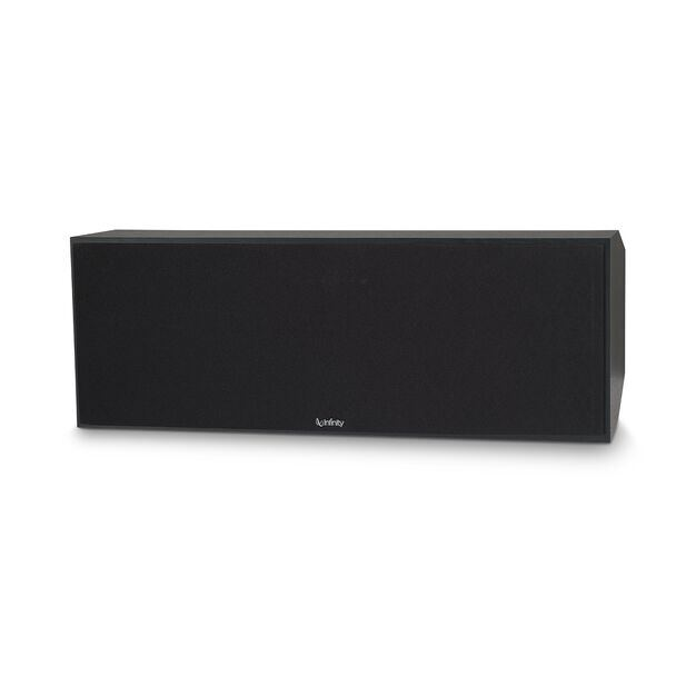 """Reference RC263 - Black - Dual 6-1/2"""" 3-Way Center Channel Loudspeaker - Hero"""