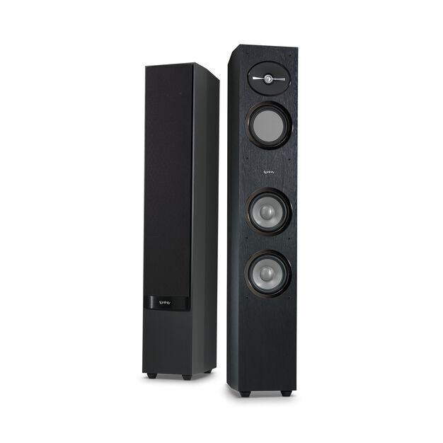 """Reference 253 - Black - 5-1/4"""" 3-Way Floorstanding Loudspeaker - Hero"""
