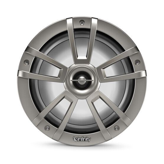 "Reference 822MLT - Graphite - Reference 822MLT—8"" (200mm) two-way marine audio multi-element speaker – titanium - Detailshot 5"