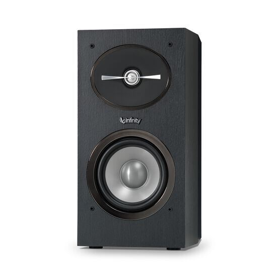 "Reference 152 - Black - 5-1/4"" 2-Way Bookshelf Speakers - Front"