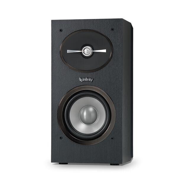 "Reference 152 - Black - 5-1/4"" 2-Way Bookshelf Speakers - Front"