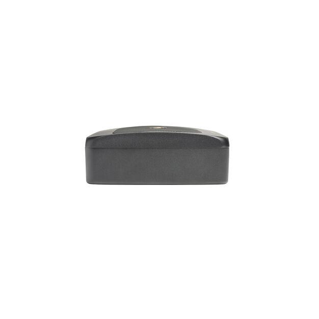 BassLink MINI - Black - Compact Under Seat Powered Subwoofer System - Detailshot 1