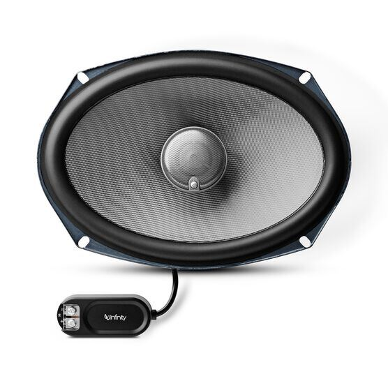 "Kappa 692.9i - Black - 6"" x 9"" 2-way car audio loudspeaker - Front"